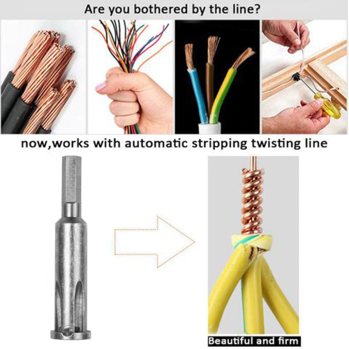 Wire Stripping And Twisting Tool