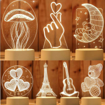 Creative 3D Night Light⚡60% OFF💥BUY MORE SAVE MORE⚡