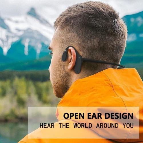 Bone Conduction Headphones - Bluetooth Wireless Headset