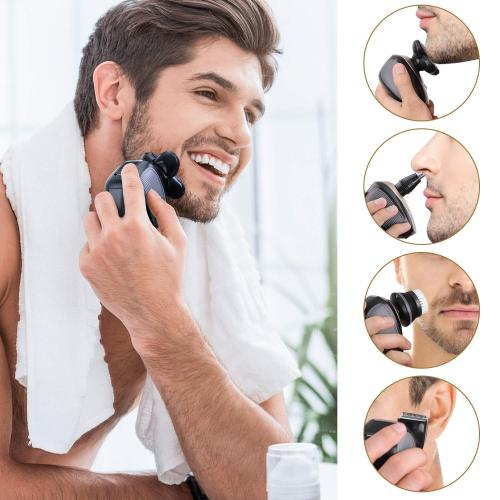 5-in-1 Premium 4D Electric Shaver Free Shipping