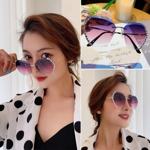 2020 NEW Fashion Crystal Sunglasses