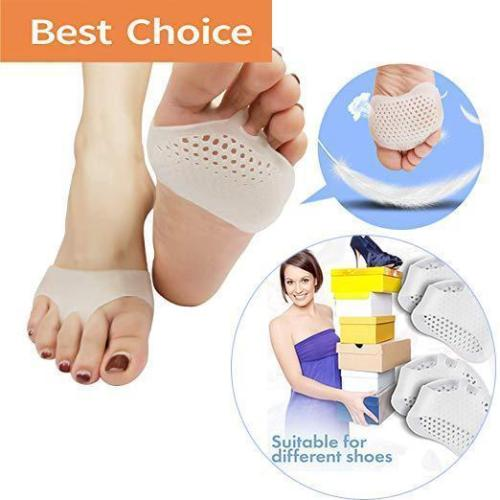 Breathable Metatarsal Pads - Ball Of Foot Pain Relief Cushions -(A Pair)
