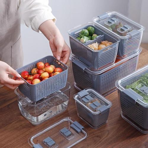 Multifunctional Kitchen Refrigerator Storage Box