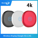 Wireless Display Receiver 5G WiFi hdmi wireless 4K Mobile Screen Cast Mirroring Adapter Dongle for iPhone Mac iOS Android to TV