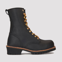 Piedmont,9 Inch Work Boot for Men in Black