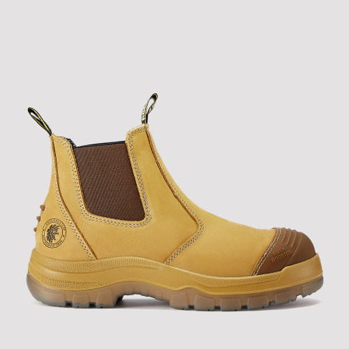 Gammon,6 Inch Work Boot for Men in Wheat