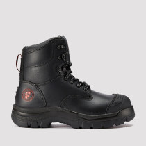Knox,7 Inch Work Boot for Men in Black