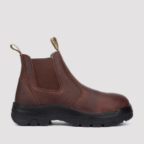 Lumen,6 Inch Work Boot for Men in Brown