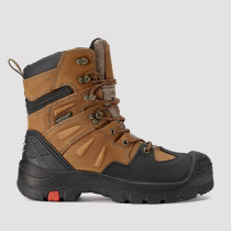 Woodland,8 Inch Work Boot for Men in Brown