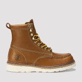 Norwood,7 Inch Wedge Work Boot for Men in Tan with Vibram® Outsole