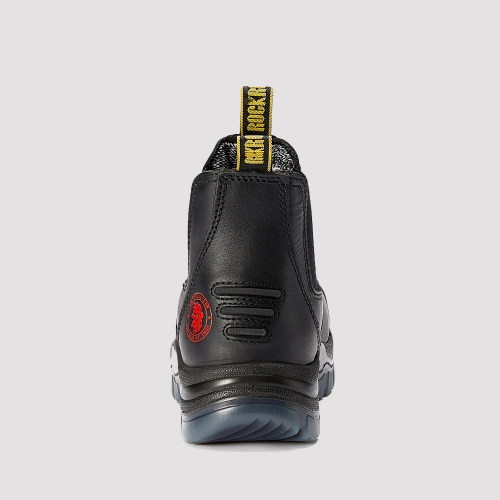 Bakken,6 Inch Work Boot for Men in Black