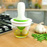 Heat Resistant Silicone Basting Set BBQ Oil Brush Baking, Roasting, Grilling, Frying, Cooking Oil Dispenser for Home Kitchen Party