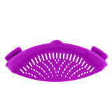 Clip on Adjustable Strainer, Clip On Silicone Colander, Fits All Pots and Bowls