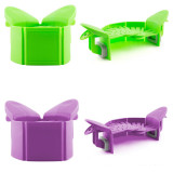 Fold-away strainer & Colander, Clip On Silicone Colander, Fits All Pots and Bowls