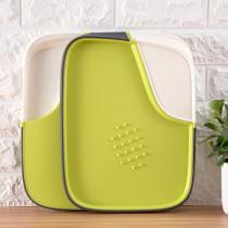 Multi functional double side smart cutting board