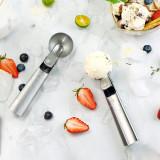 Food grade stainless steel ice cream scoop for hard ice cream