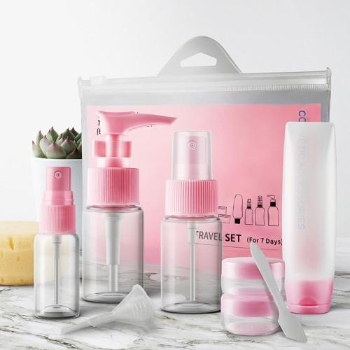 Eco Friendly travel bottle spray set for 7 days