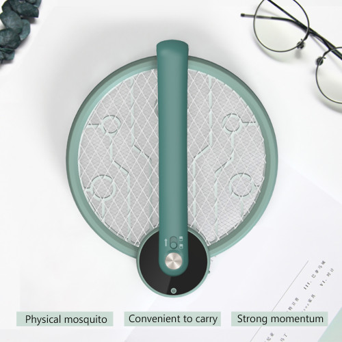 Electric Mosquito Clap UV Light Mini Bug Insect Fly Swatter Racket