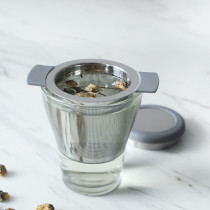 Reusable tea infuser filter