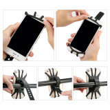 Bike Phone Mount 360 Rotation Motorcycle Bicycle Handlebar Cradle Silicone Cell Phone Holder for 4-6.5 inches phone
