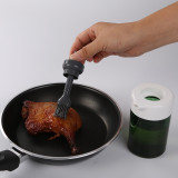 tools in kitchen oil dispenser bottle & brush set