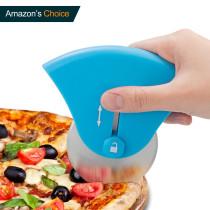 Pizza wheel knife