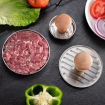 304 stainless steel burger press