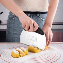 Pastry scraper chopper kitchen tools measure equivaients