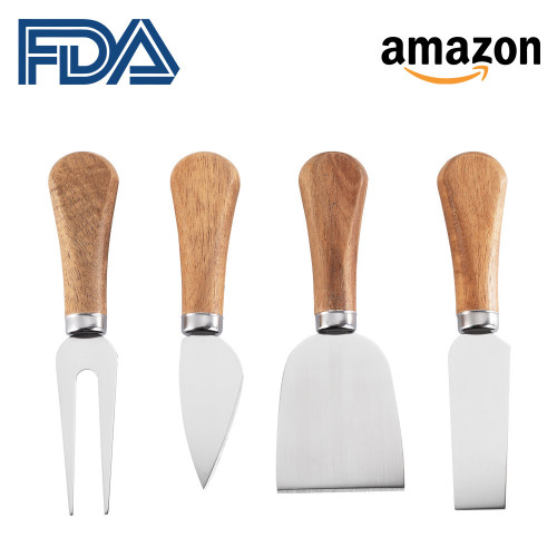 4pcs Cheese knife set