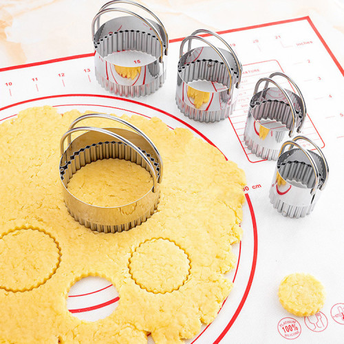 cookie cutters stainless steel 5pcs