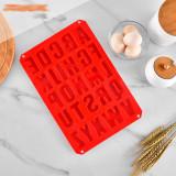 Alphabet silicone mold cake baking utensils DIY ice tray BPA FREE