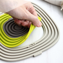 3 in 1 silicone cup padSilicone Pot Holders Trivets for Hot Dishes Thick Hot Pads for Kitchen Heat Resistant Trivet Mats Oven Pads Hot Mats for Hot Pots and Pans