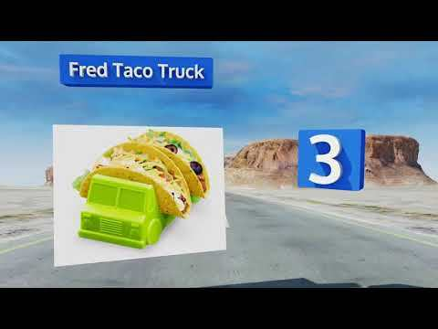 Fred taco truck as seen on tv