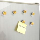 Cartoon emoji shelf expression clip 6pcs