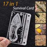 17 in 1 Survival Card amazon products