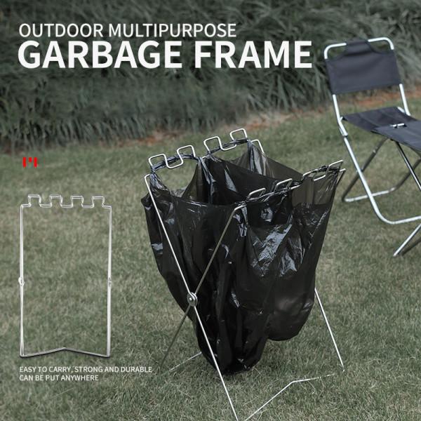Outdoor Multipurpose Garbage Frame