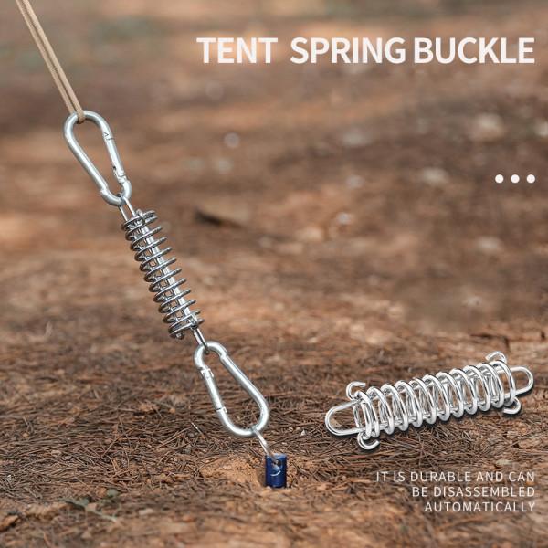 Strength Elastic Tent Spring Buckle Outdoor