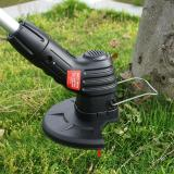 Bionic Trimmer Rechargeable Lawn Trimmer in Black