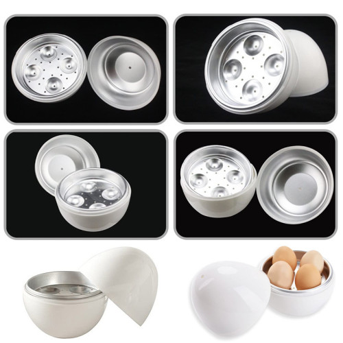 Egg Pod - Microwave Egg Cooker that Perfectly Cooks Eggs and Detaches the Shell! As Seen on TV
