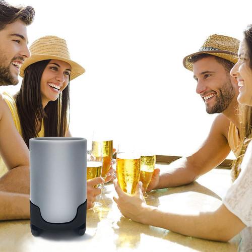 Sonic Beer Foamer, Portable Frother Vibration Maker Bubbler Micro-foam Creamy Beer Foam Maker Dispenser