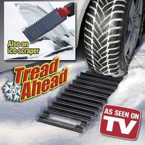 Tread Ahead Auto Traction Mat Ice Scraper