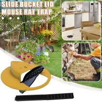 Slide Ducket Lid Mouse Rat Trap