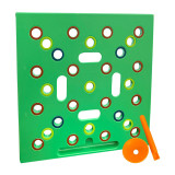 Seeding Square: A Seed-Sowing Template – Grow Perfectly Spaced Vegetables, Reduce Weeds, Conserve Water & Maximize Yield – Square-Foot-Gardening Seed and Seedling Spacer Tool
