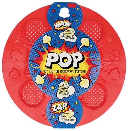 Pop Microwave Popcorn Lid