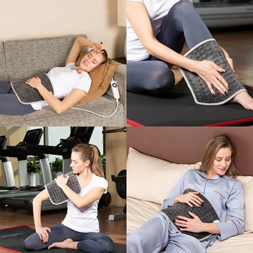 Customized moist medical pain relief knee back leg and shoulder electric heating pad