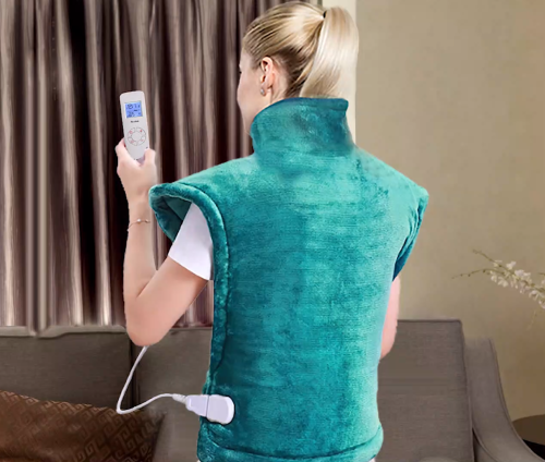 Hot Seller Factory Price Extra-Big OEM Pain Relief Health Care Heat Wrap for Neck, Shoulder and Full Back Heating Pad