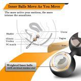 VIBRO© Kegel Balls Exercise Weights, Ben Wa Balls Kit for Women Bladder Control
