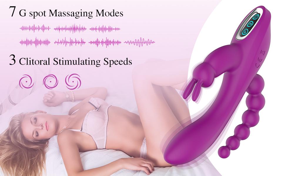 7 Vibration Modes & 3 Speeds