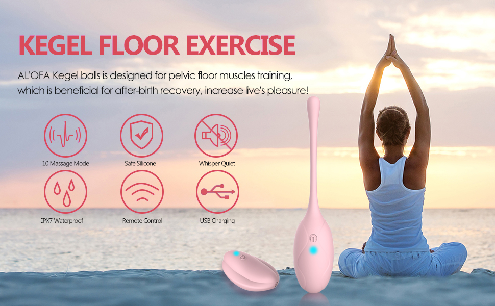 Kegel Exercise Weights,VIBRO© Ben Wa Ball Doctor Recommended