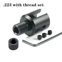1 2 28 5 8 24 BARREL END THREAD PROTECTOR FOR 1022 10/22 .750 ADAPTER COMBO .223 .308